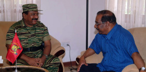 Mr.-Pirapaharan-meets-Mr.-Anton-Balasingham-in-Vanni